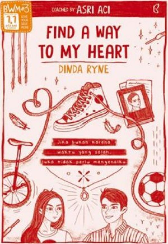 Cover Buku Find A Way To My Heart