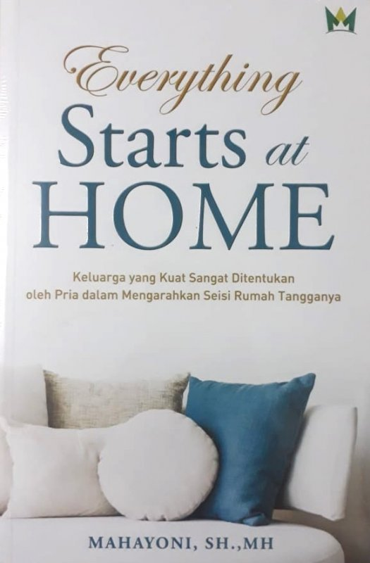 Cover Buku Everything Starts at Home