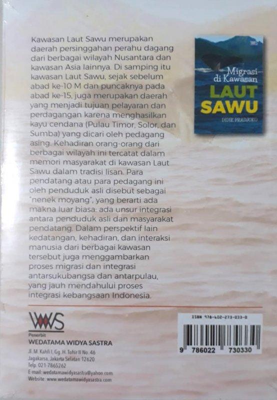 Cover Belakang Buku Migrasi di Kawasan Laut Sawu