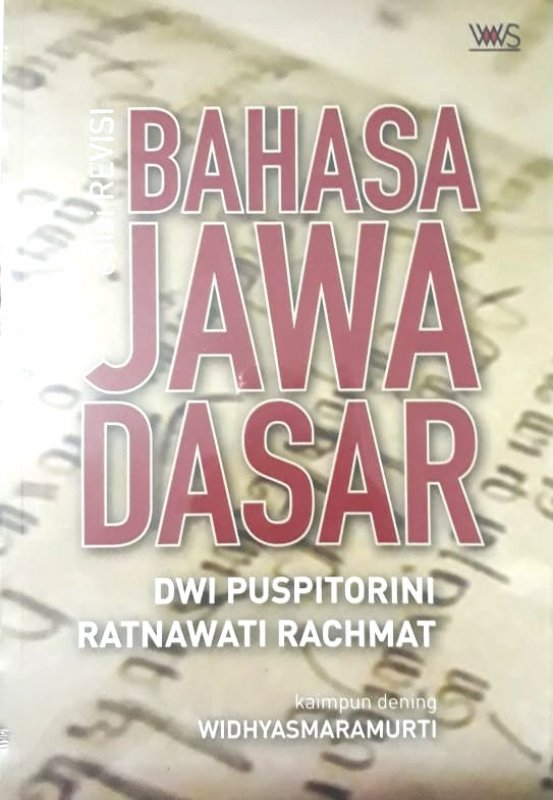 Cover Buku Bahasa Jawa Dasar Edisi Revisi