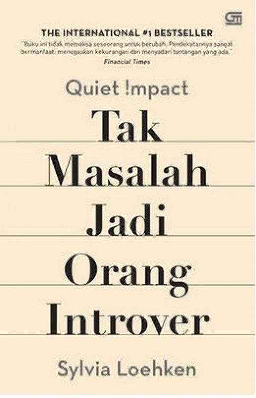 Cover Buku Quiet Impact: Tak Masalah Jadi Orang Introver