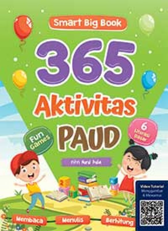 Cover Buku Smart Big Book 365 Aktivitas PAUD