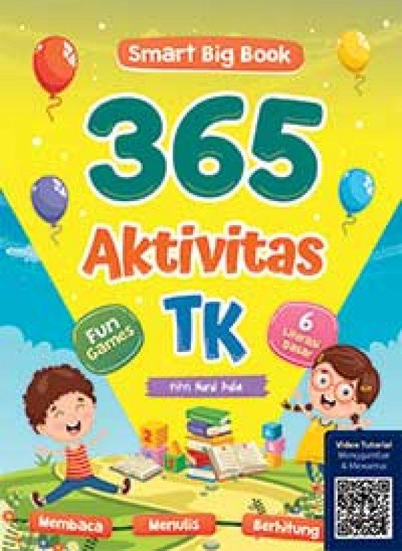 Cover Buku Smart Big Book 365 Aktivitas TK