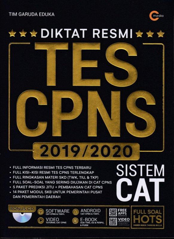 Cover Buku DIKTAT RESMI TES CPNS 2019/2020