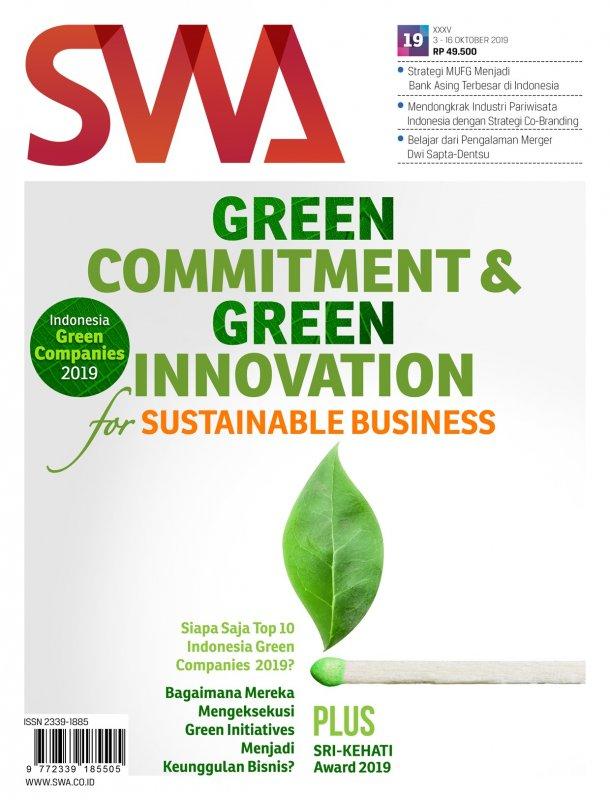 Cover Buku Majalah SWA Sembada No. 19 |03 Oktober - 16 Oktober 2019