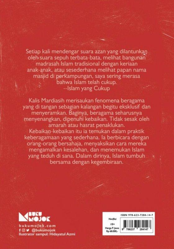 Cover Belakang Buku Hijrah Jangan Jauh-Jauh, Nanti Nyasar!