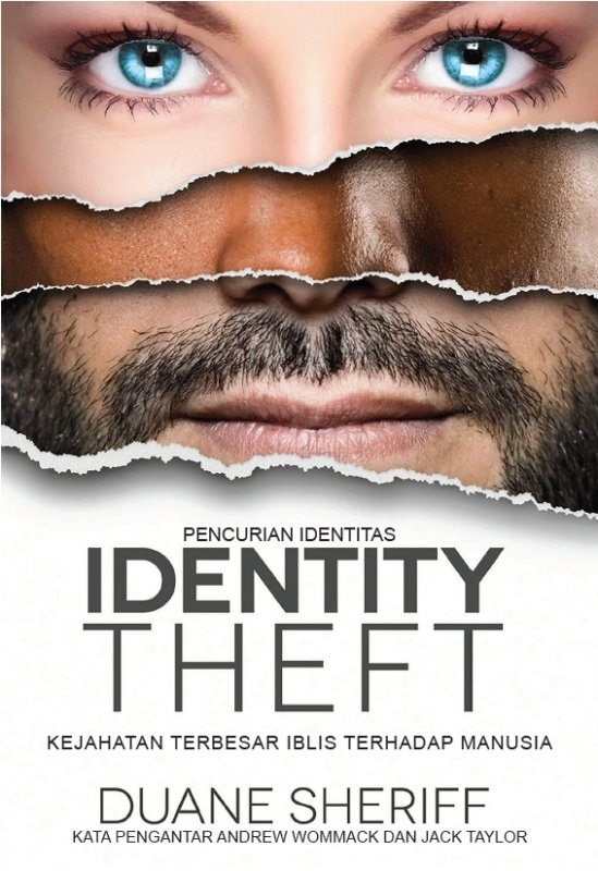 Cover Buku Pencurian Identitas (Identity Theft)