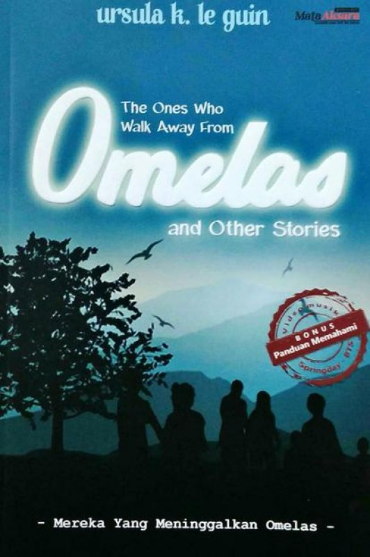 Cover Buku The Ones Who Walk Away From Omelas and Other Stories