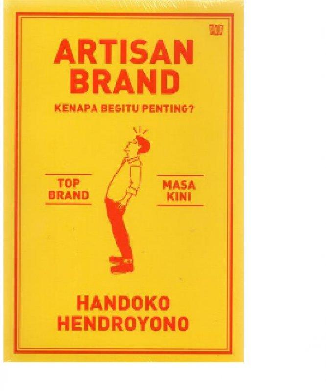 Cover Belakang Buku Artisan Brand