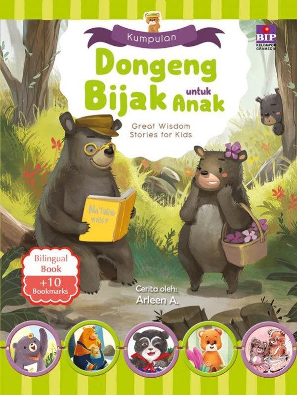 Cover Belakang Buku Kumpulan Dongeng Bijak Untuk Anak