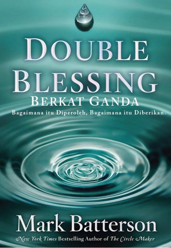 Cover Buku Double Blessing (Berkat Ganda) Mark Batterson