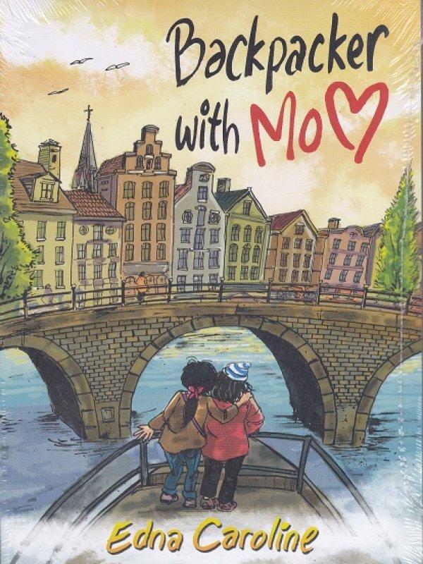 Cover Belakang Buku Lansia Backpacker : Backpacker with Mom