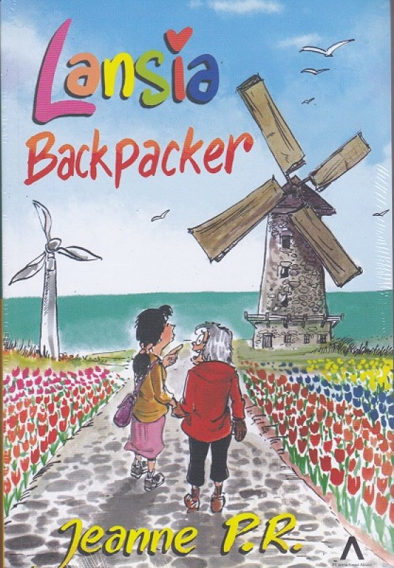 Cover Depan Buku Lansia Backpacker : Backpacker with Mom