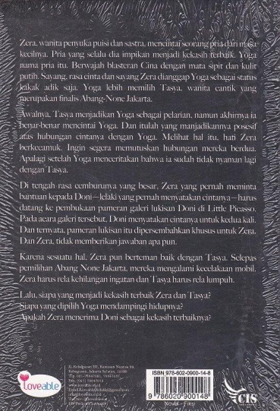 Cover Belakang Buku KEKASIH TERBAIK ( NEW COVER )