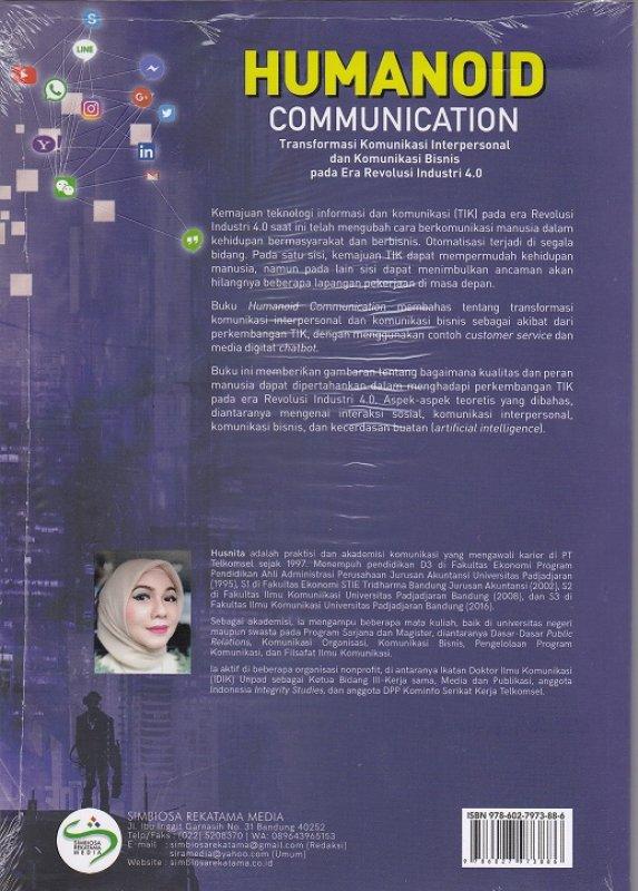 Cover Belakang Buku Humanoid Comunication