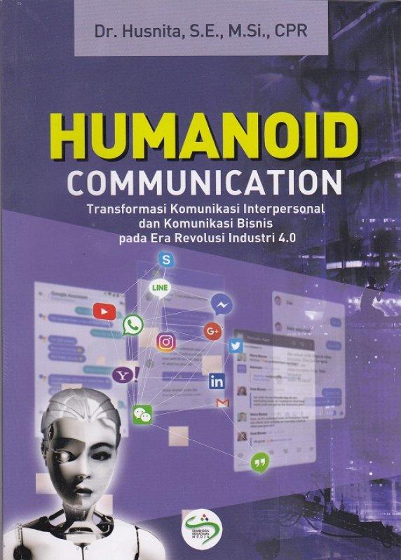 Cover Buku Humanoid Comunication