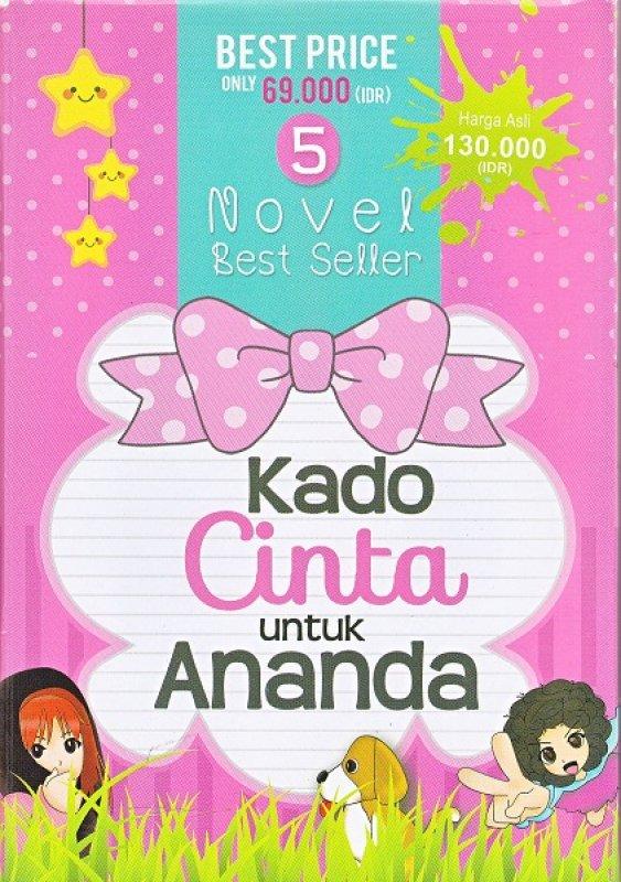 Cover Buku box paket 5 novel: kado cinta untuk ananda