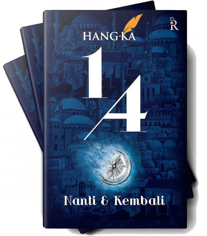 Cover Buku 1/4: Nanti & Kembali