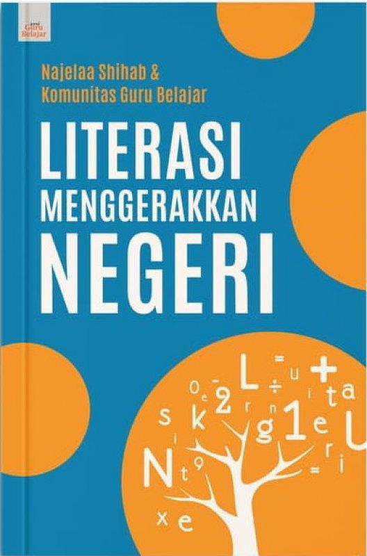 Cover Buku Literasi Menggerakkan Negeri