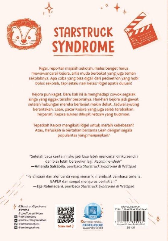 Cover Belakang Buku Starstruck Syndrome