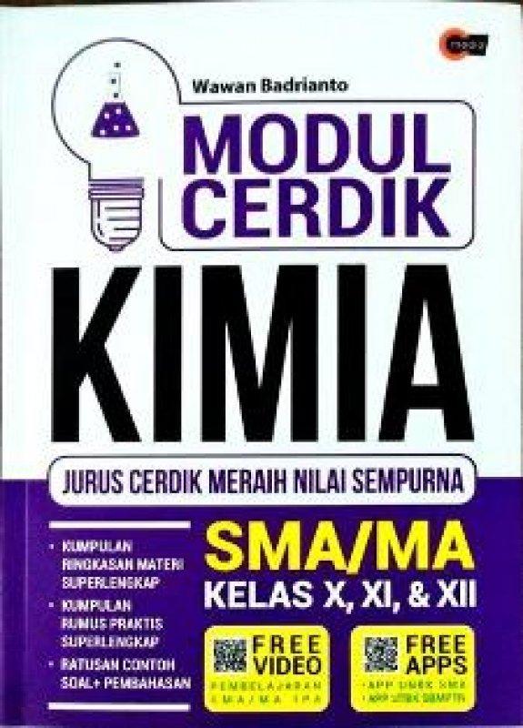 Cover Buku Modu cerdik Kimia SMA Kelas X, XI, XII