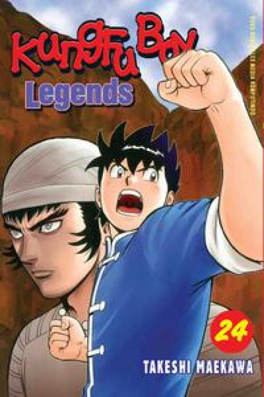 Cover Buku Kungfu Boy Legends 24