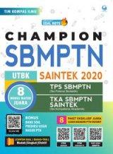 Detail Buku Champion Utbk Sbmptn Saintek 2020 - 2021