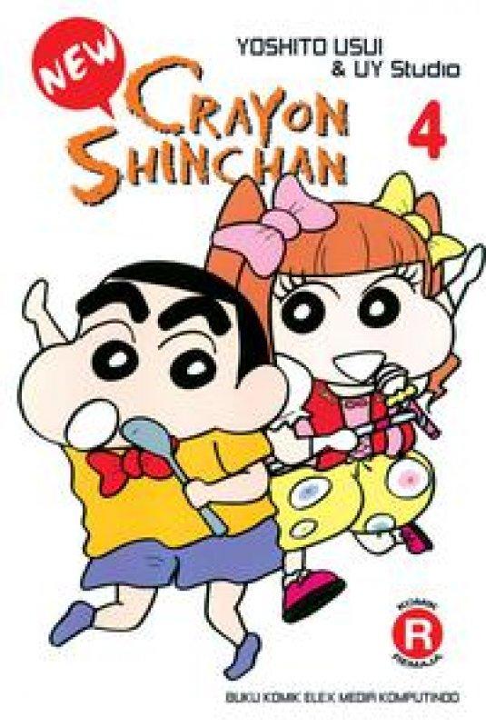 Cover Buku New Crayon Shinchan 04