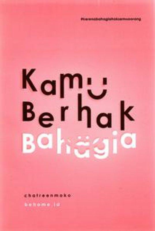 Cover Buku Kamu Berhak Bahagia