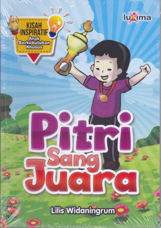 Cover Buku Pitri sang juara