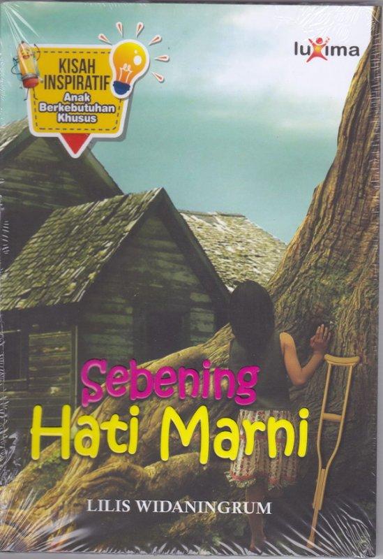 Cover Buku Sebening Hati Marni