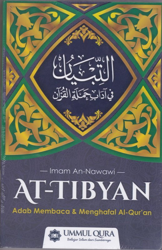 Cover Buku At Tibyan : Adab membaca & MENGHAFAL aLQUR
