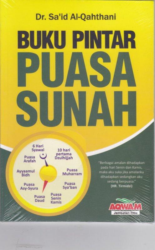 Cover Buku Buku Pintar Puasa Sunnah ( Cover Baru )