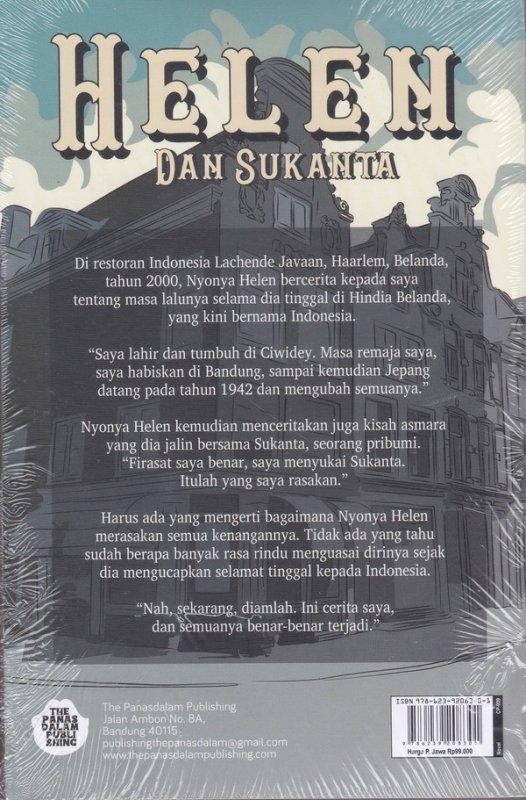 Cover Belakang Buku HELEN DAN SUKANTA ( Reguler )