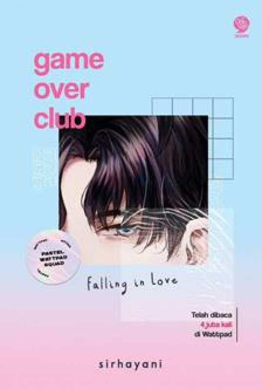 Cover Buku GAME OVER CLUB: Falling in Love