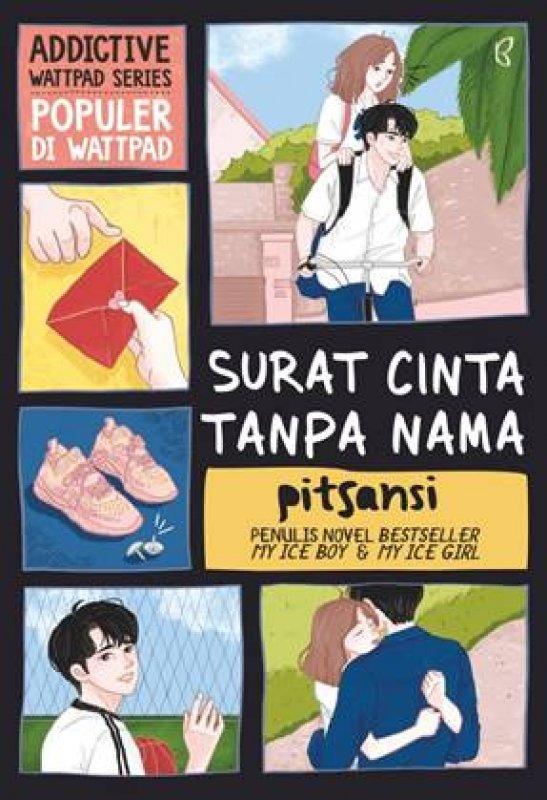 Cover Buku Surat Cinta Tanpa Nama