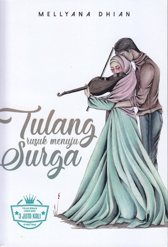 Cover Buku Tulang Rusuk Menuju Surga (Edisi Tanda Tangan)