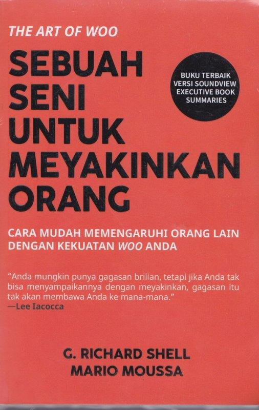 Cover Buku Sebuah Seni Untuk Meyakinkan Orang