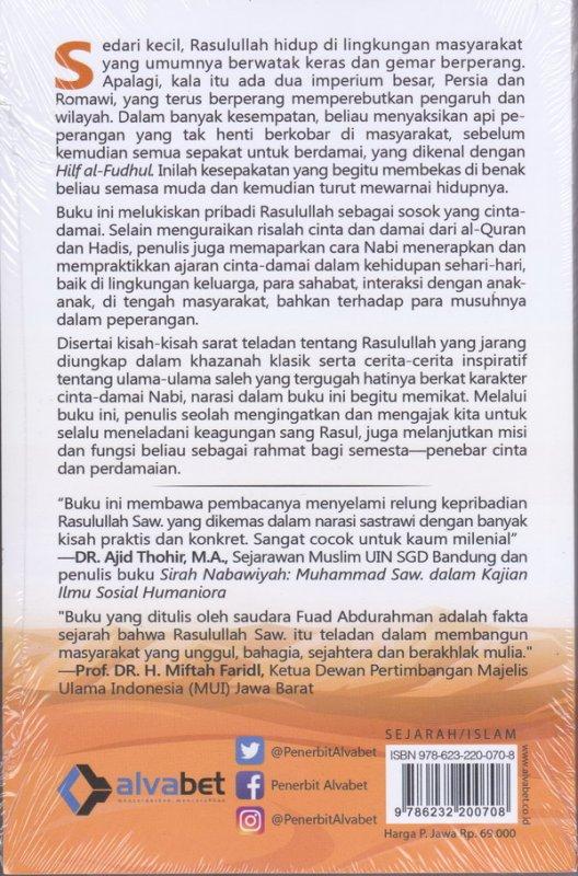 Cover Belakang Buku Jalan Damai Rasulullah