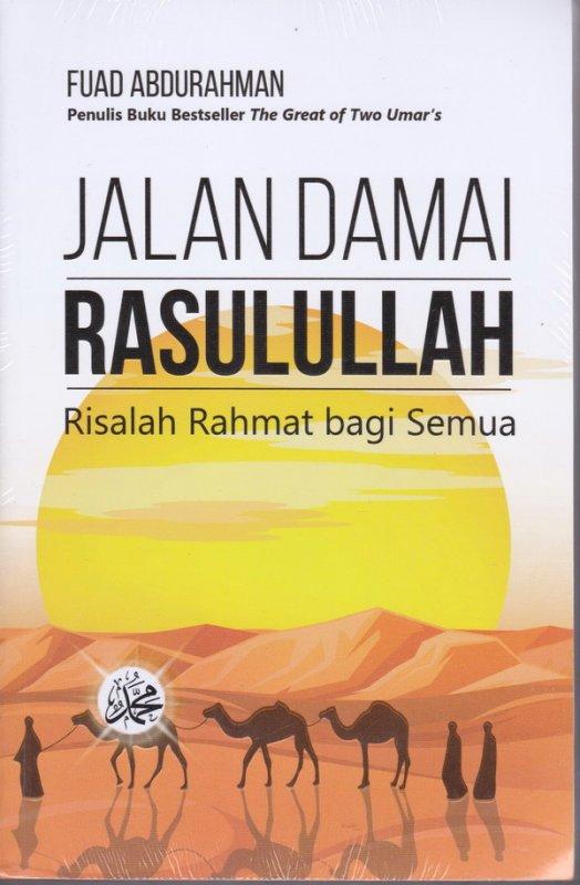 Cover Buku Jalan Damai Rasulullah