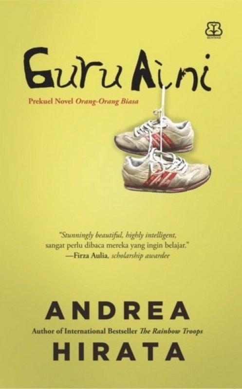 Cover Buku Guru Aini (Edisi Tanda Tangan)