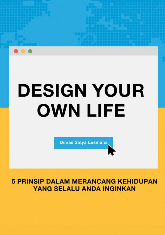 Cover Buku Design Your Own Life
