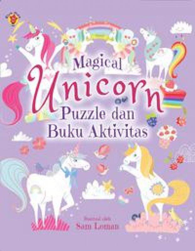 Cover Buku Magical Unicorn: Puzzle dan Buku Aktivitas