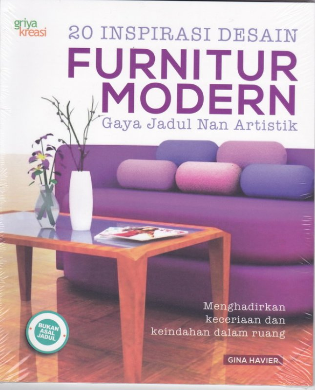 Cover Buku 20 Inspirasi desain Furnitur Modern Gaya jadul Nan artistik