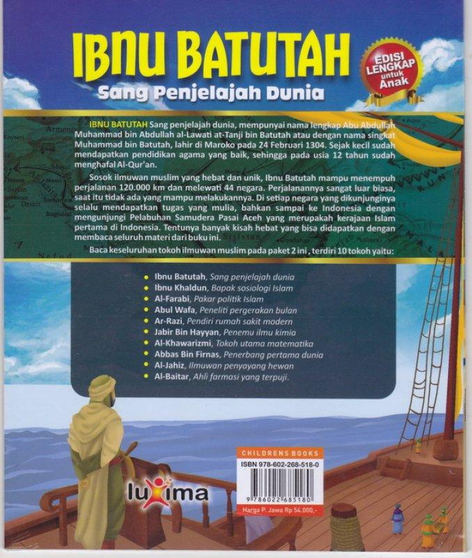 Cover Belakang Buku Ibnu Batutah