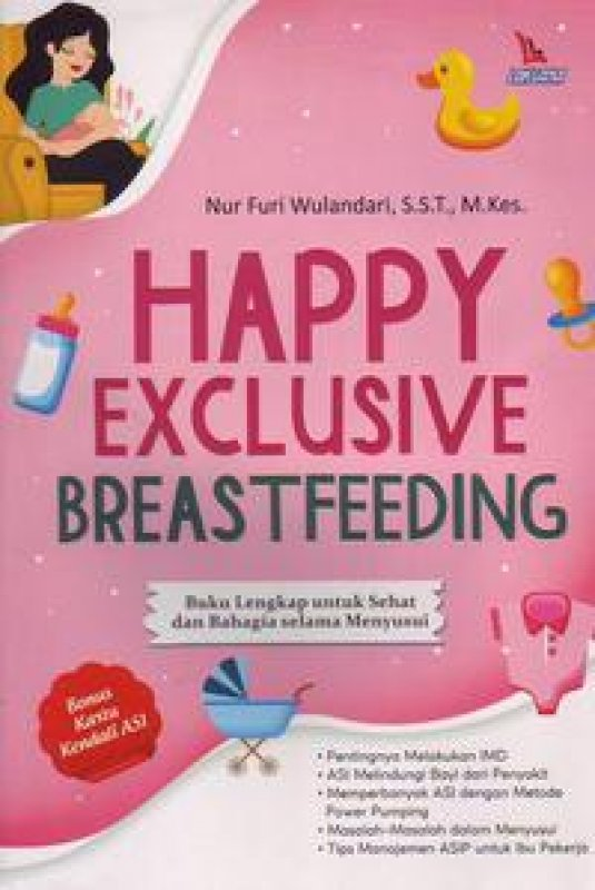 Cover Buku Happy Exclusive Breastfeeding