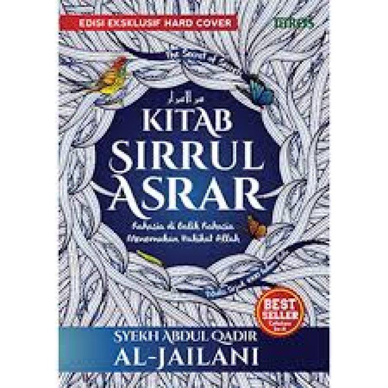 Cover Buku Kitab Sirrul Asrar (HARD COVER)