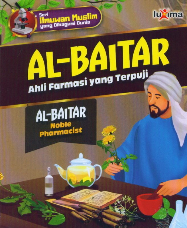 Cover Buku AL-BAITAR : ahli farmasi yang terpuji