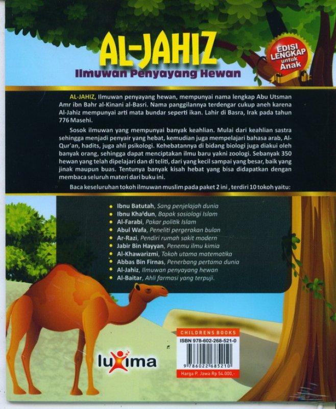 Cover Belakang Buku AL-JAHIZ: ilmuan penyayang hewan