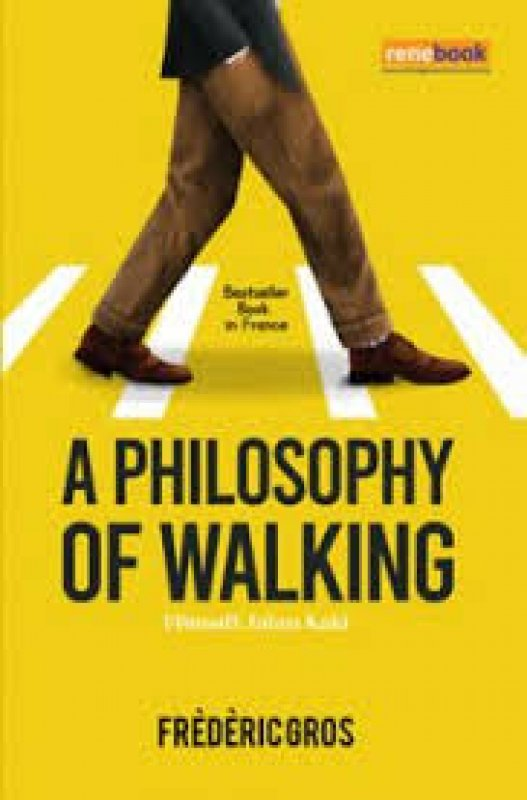 Cover Buku A Philosophy of Walking :Filosofi Jalan Kaki